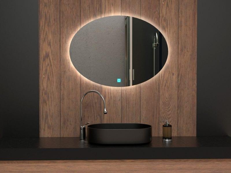Espejo de baño en tendencia